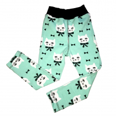 Leggings Katt Mint