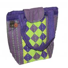 Handväska Lila Lime