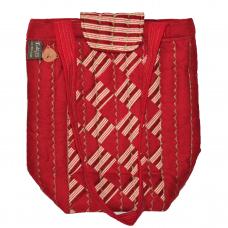 Handväska Röd Rand